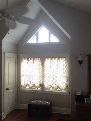 Custom Home Window Drapes